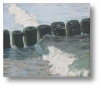 Obraz olejny - Morze - Malarstwo - Celina Dobke
